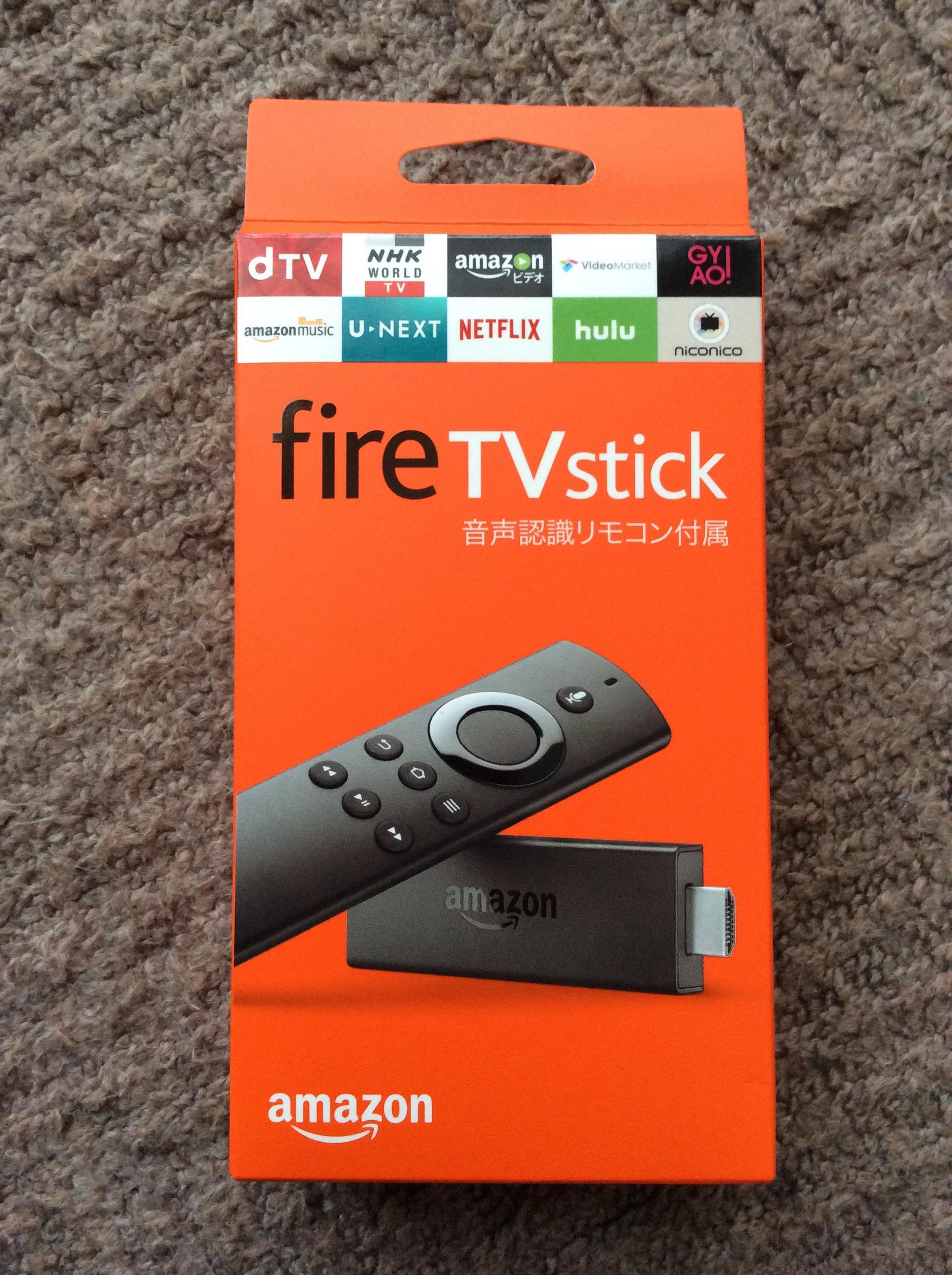 近未来感すごいぞ!アマゾンプライム×新型Fire TV Stick!購入から使用まで 前編