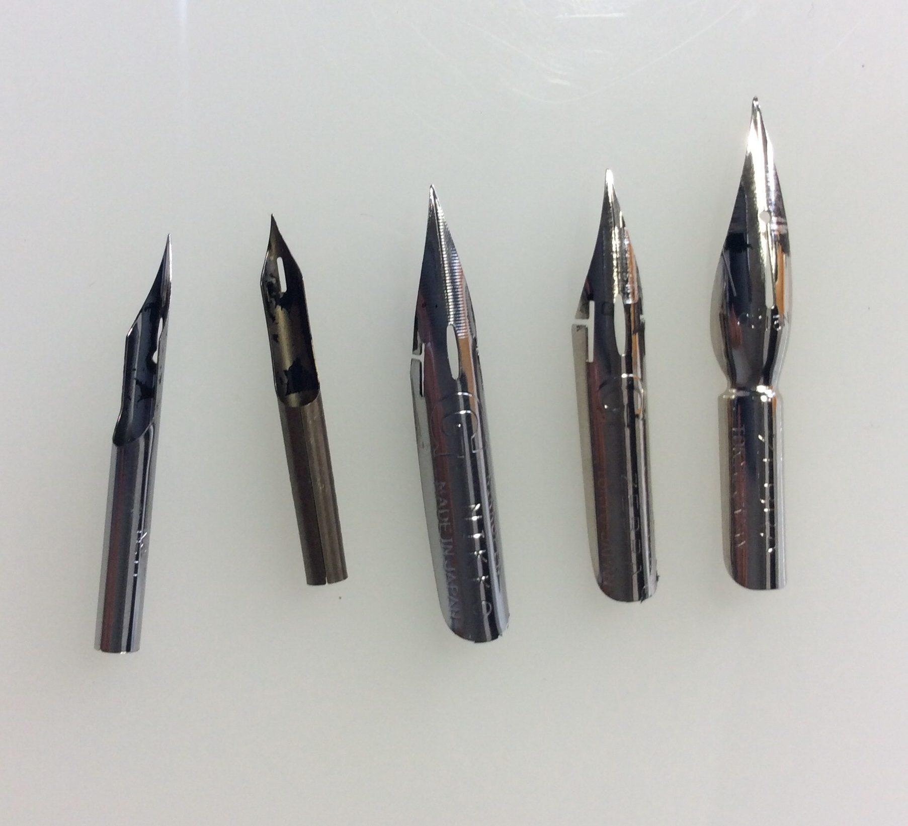 第3回 漫画の道具紹介【つけペン・筆ペン】比較してみよー!